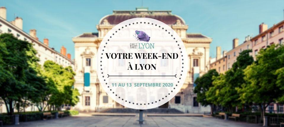 Nos coups de cœur du week-end à Lyon (11 au 13 septembre)