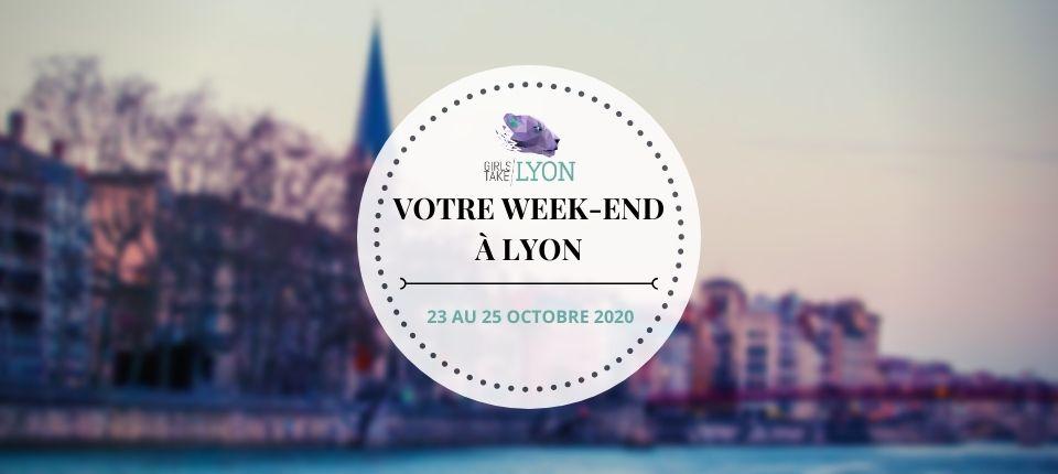 Nos coups de cœur du week-end à Lyon (23 au 25 octobre)