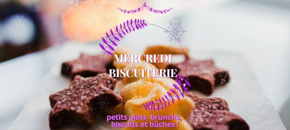 Mercredi Biscuiterie – brunchs et nouveautés