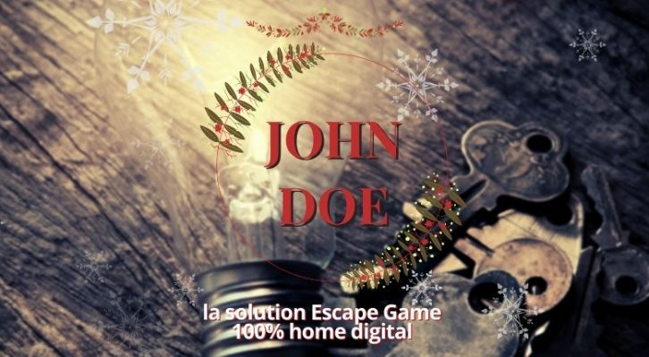 CALENDRIER DE L'AVENT J6 : les Escape Game John Doe à domicile