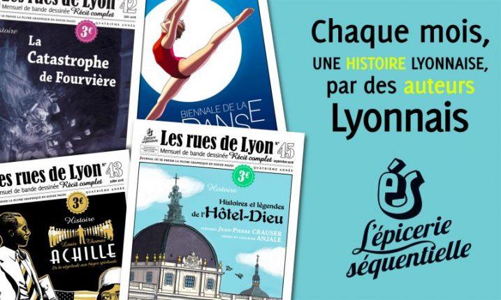 magazine Les rues de Lyon