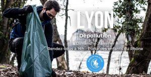 dépollution sur les Berges du Rhône