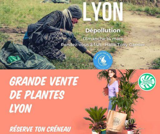 Environnement et plantes à Lyon