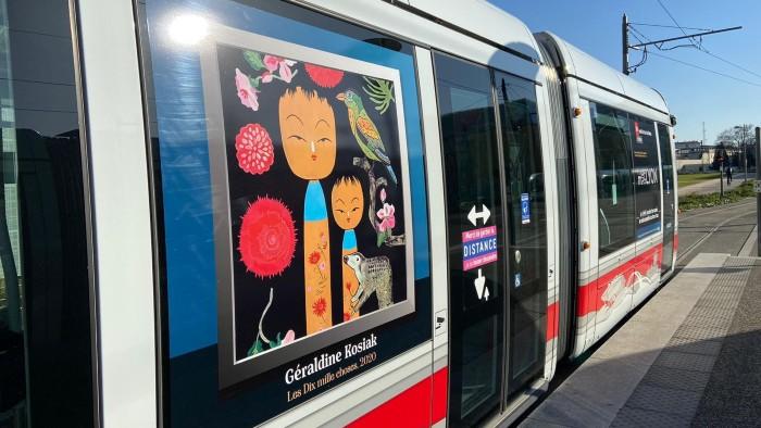 lyon art réseau tcl tramway