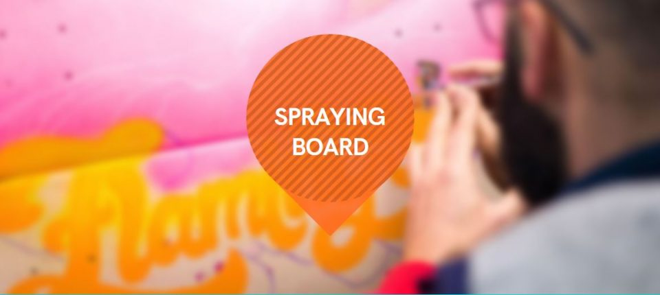 Spraying Board 2021 : culture du skate et art urbain